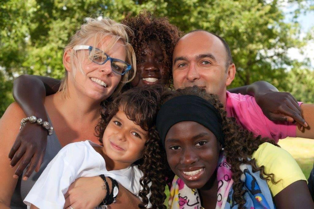 International adoption landing page